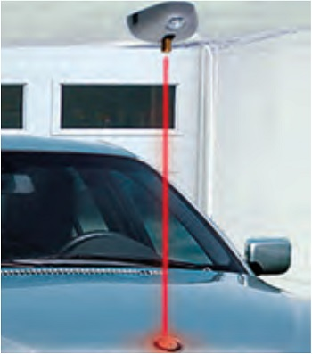 Laser monoindicatore